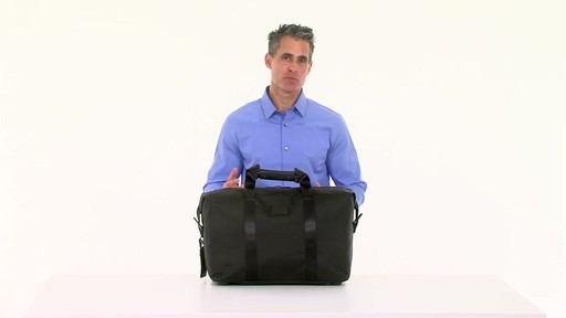 Tumi Alpha 2 Small Soft Travel Satchel - eBags.com - image 7 from the video