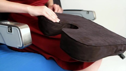 Travelon Self Inflating Seat Cushion - image 8 from the video