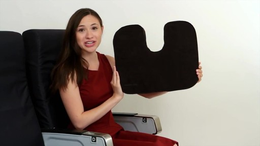 Travelon Self Inflating Seat Cushion - image 9 from the video