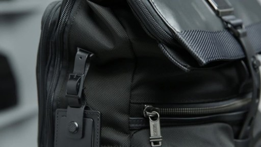 Tumi Alpha Bravo London Roll-Top Laptop Backpack - image 10 from the video