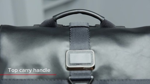 Tumi Alpha Bravo London Roll-Top Laptop Backpack - image 3 from the video