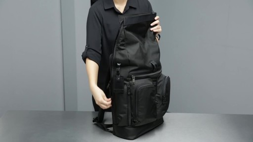 Tumi Alpha Bravo London Roll-Top Laptop Backpack - image 6 from the video