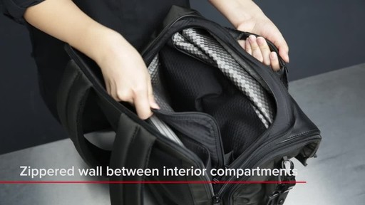 Tumi Alpha Bravo London Roll-Top Laptop Backpack - image 9 from the video