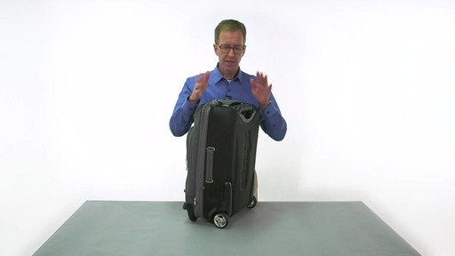eBags TLS Convertible Wheeled Carry-On - eBags.com - image 6 from the video