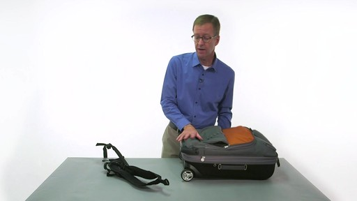 eBags TLS Convertible Wheeled Carry-On - eBags.com - image 7 from the video