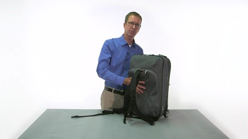 eBags TLS Convertible Wheeled Carry-On - eBags.com - image 8 from the video
