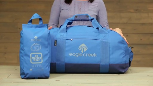 Eagle Creek No Matter What Flashpoint Duffel - image 1 from the video