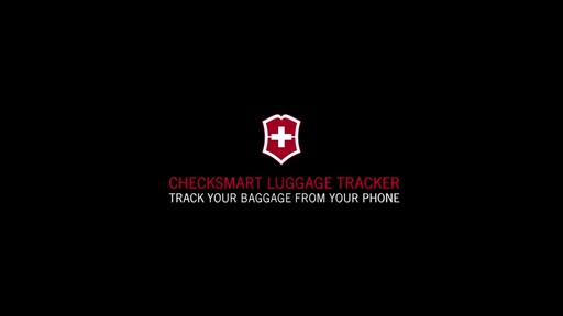 Victorinox CheckSmart Luggage Tracker - on eBags.com - image 1 from the video