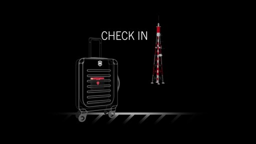 Victorinox CheckSmart Luggage Tracker - on eBags.com - image 6 from the video
