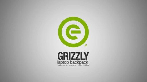 ecogear Grizzly Laptop Backpack - image 1 from the video