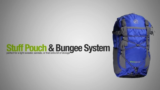 ecogear Grizzly Laptop Backpack - image 3 from the video