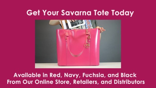 McKlein USA Savarna Tote - image 10 from the video