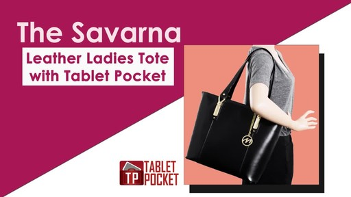 McKlein USA Savarna Tote - image 2 from the video