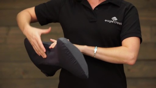 Eagle Creek Exhale Lumbar Pillow - image 3 from the video