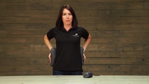 Eagle Creek Exhale Lumbar Pillow - image 4 from the video