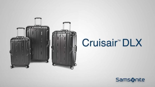 Samsonite Cruisair DLX Hardside Spinner on eBags.com - image 10 from the video