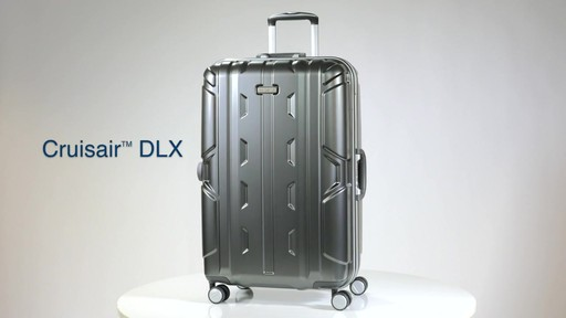 Samsonite Cruisair DLX Hardside Spinner on eBags.com - image 2 from the video