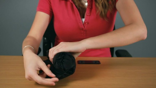 Travelon Self Inflating Neck and Back Pillow Rundown - image 6 from the video
