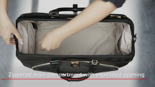 Tumi Larkin Annandale Duffel - image 8 from the video