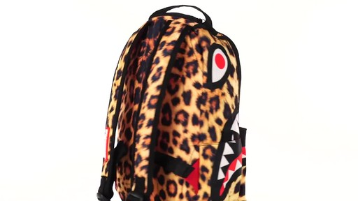 Sprayground Lil Leopard Shark Backpack - Shop eBags.com - image 10 from the video