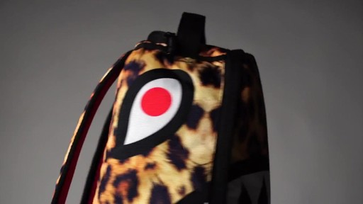 Sprayground Lil Leopard Shark Backpack - Shop eBags.com - image 2 from the video