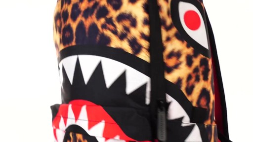 Sprayground Lil Leopard Shark Backpack - Shop eBags.com - image 3 from the video
