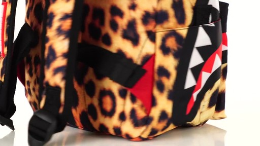 Sprayground Lil Leopard Shark Backpack - Shop eBags.com - image 4 from the video