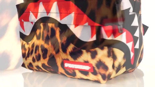 Sprayground Lil Leopard Shark Backpack - Shop eBags.com - image 5 from the video