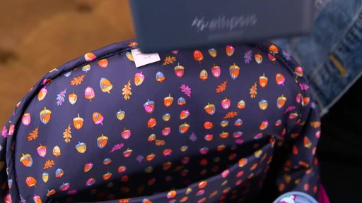 Vera Bradley Lighten Up Small Backpack - image 5 from the video