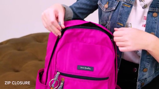 Vera Bradley Lighten Up Small Backpack - image 7 from the video