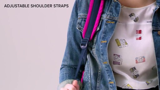 Vera Bradley Lighten Up Small Backpack - image 8 from the video