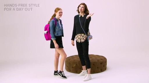 Vera Bradley Lighten Up Small Backpack - image 9 from the video