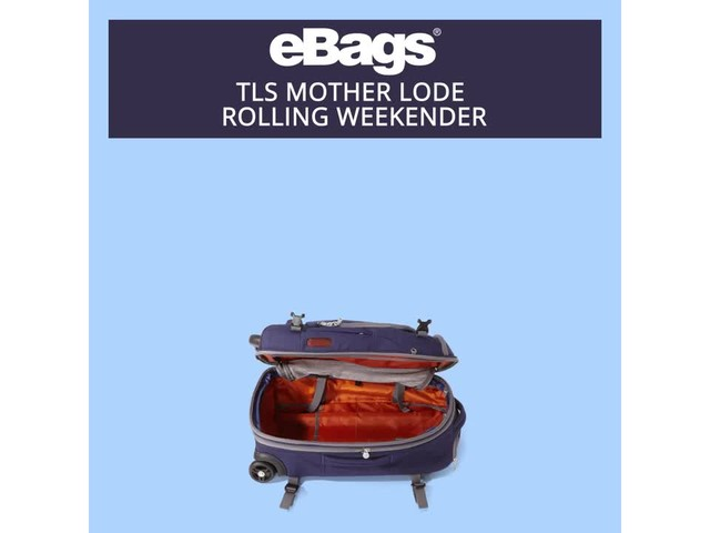 eBags TLS Mother Lode Rolling Weekender - image 1 from the video