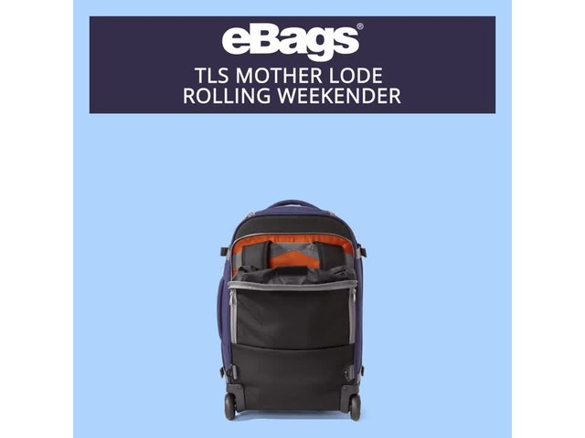 eBags TLS Mother Lode Rolling Weekender - image 10 from the video