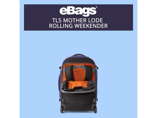 eBags TLS Mother Lode Rolling Weekender - image 7 from the video