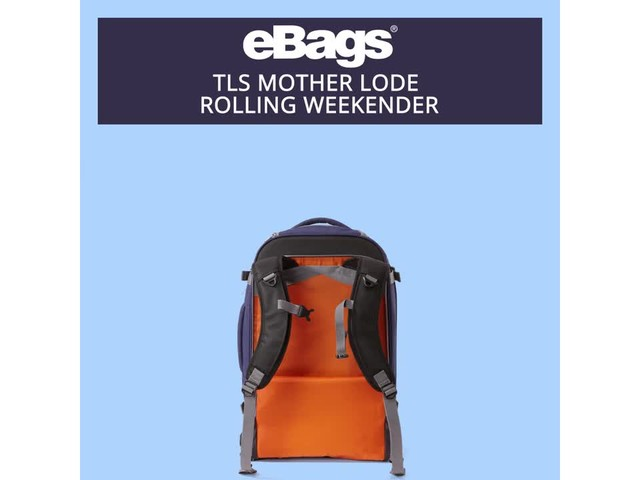 eBags TLS Mother Lode Rolling Weekender - image 9 from the video