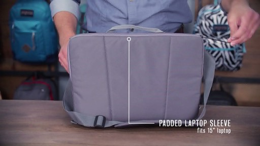 JanSport - Network Messenger - image 3 from the video