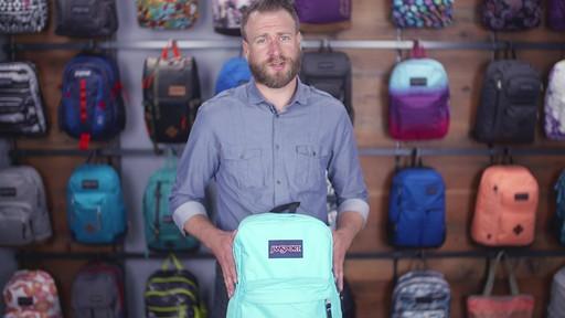 JanSport SuperBreak Backpack - eBags.com - image 3 from the video