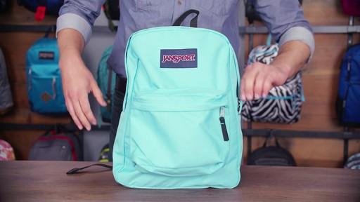 JanSport SuperBreak Backpack - eBags.com - image 6 from the video