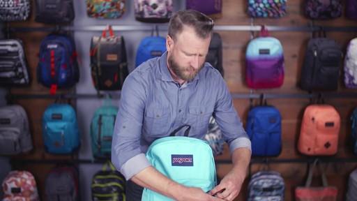 JanSport SuperBreak Backpack - eBags.com - image 7 from the video