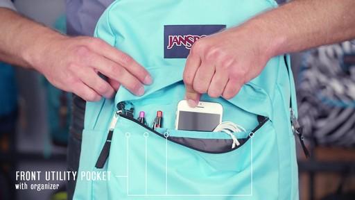 JanSport SuperBreak Backpack - eBags.com - image 8 from the video