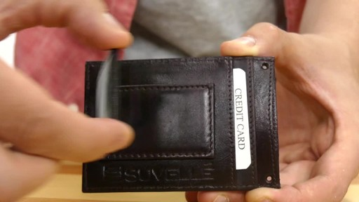 Suvelle Mens Slim Magnetic Money Clip Front Pocket Wallet - image 4 from the video