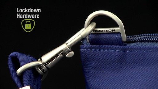 Travelon Anti-Theft Welted Crossbody Phone Pouch - image 3 from the video