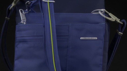 Travelon Anti-Theft Welted Crossbody Phone Pouch - image 7 from the video