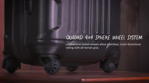 Gregory Quadro Spinner Luggage - image 2 from the video