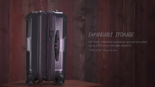 Gregory Quadro Spinner Luggage - image 5 from the video