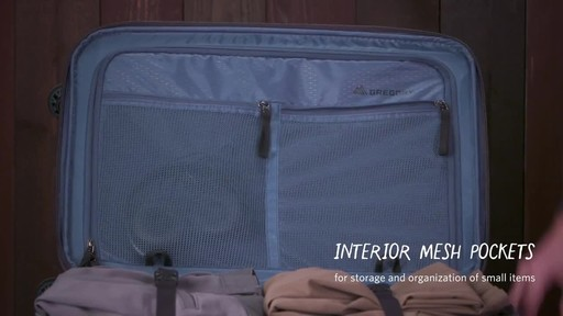 Gregory Quadro Spinner Luggage - image 8 from the video