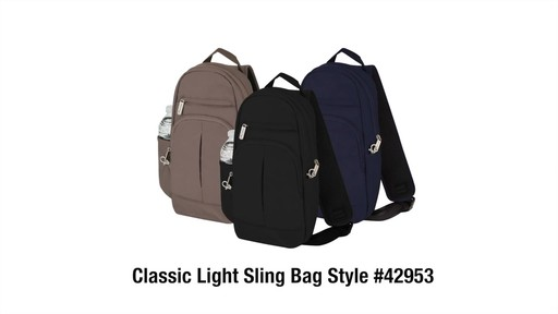 Travelon Anti-Theft Classic Light Sling - eBags.com - image 10 from the video