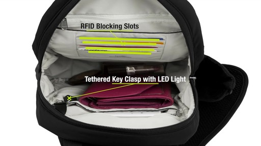 Travelon Anti-Theft Classic Light Sling - eBags.com - image 9 from the video
