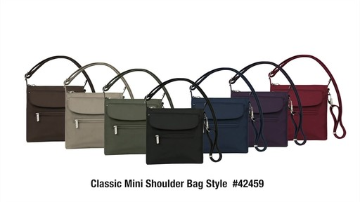 Travelon Anti-Theft Classic Mini Shoulder Bag - eBags.com - image 10 from the video
